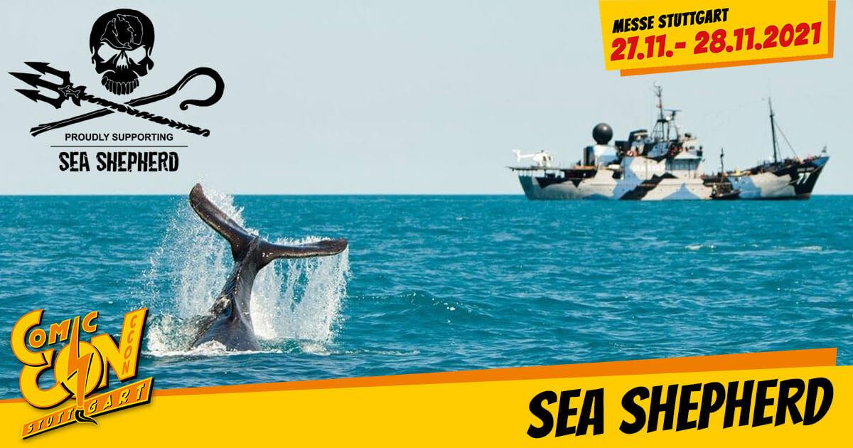 CCON | COMIC CON STUTTGART 2021 | Infos | Sea Shepherd