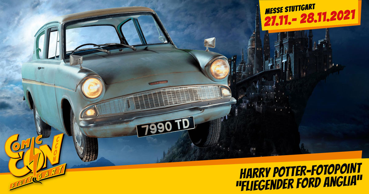 CCON | COMIC CON STUTTGART 2021 | Fotopoint | Harry Potter - Fliegender Ford Anglia