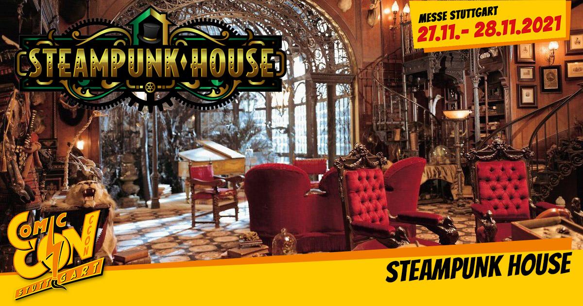 CCON | COMIC CON STUTTGART | Attraktionen | Steampunk House