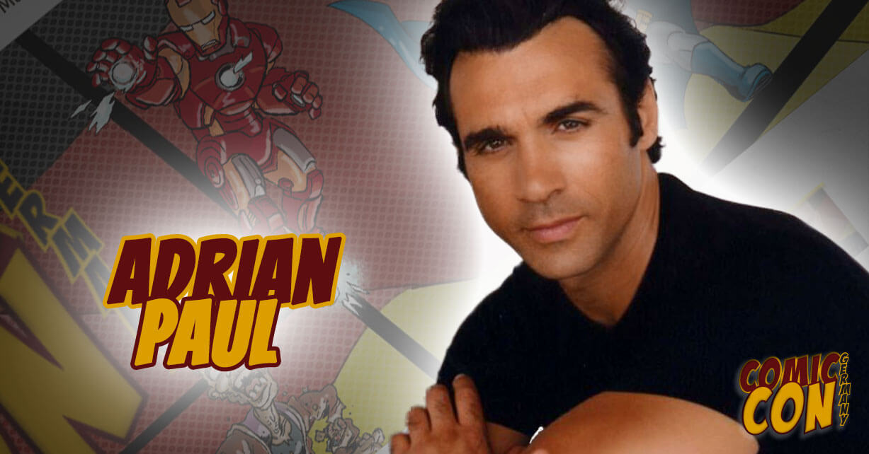 Comic Con Germany | Adrian Paul