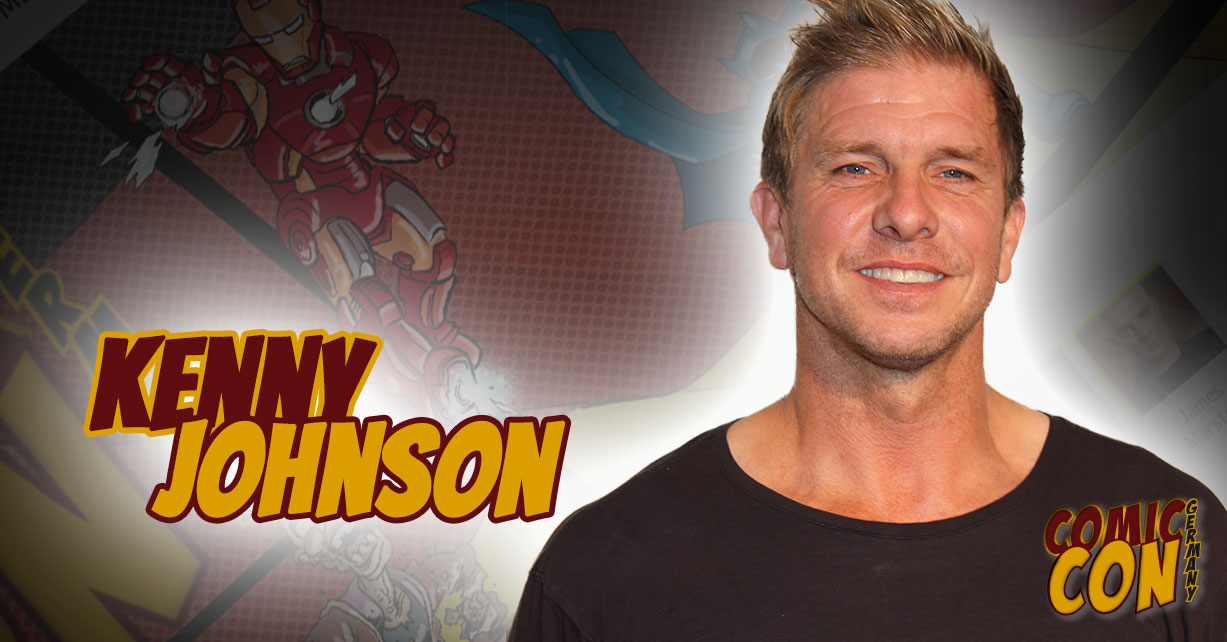 Comic Con Germany | Kenny Johnson