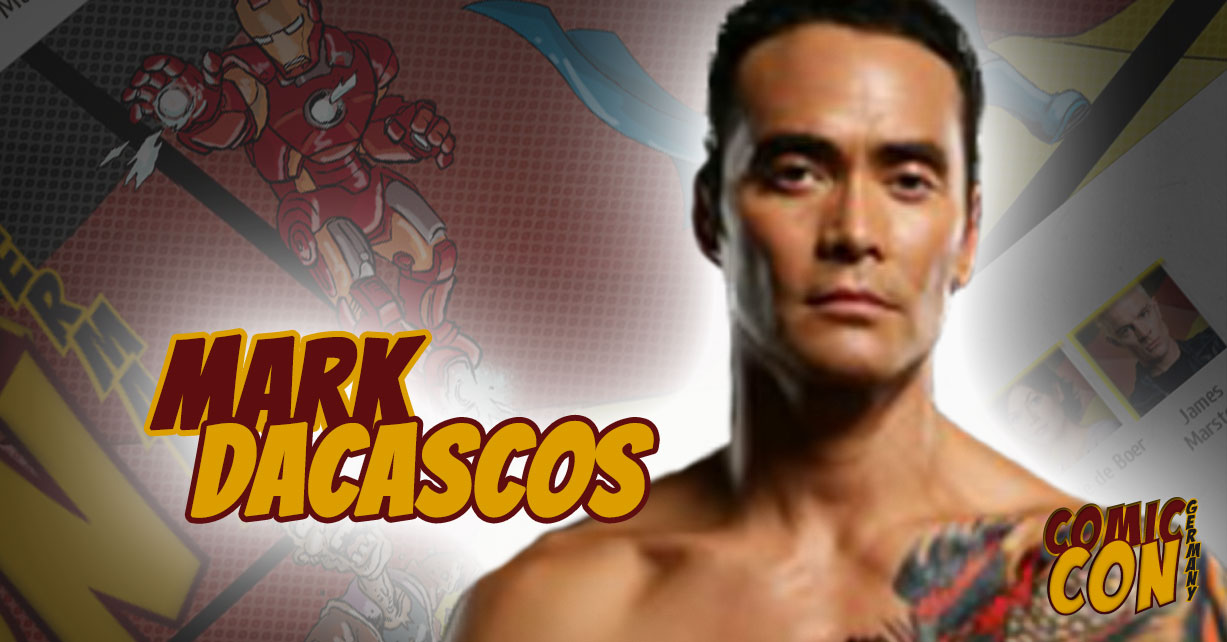Comic Con Germany | Mark Dacascos