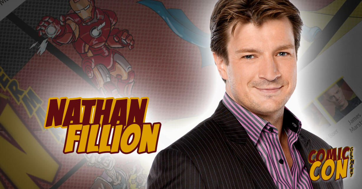 Comic Con Germany | Nathan Fillion