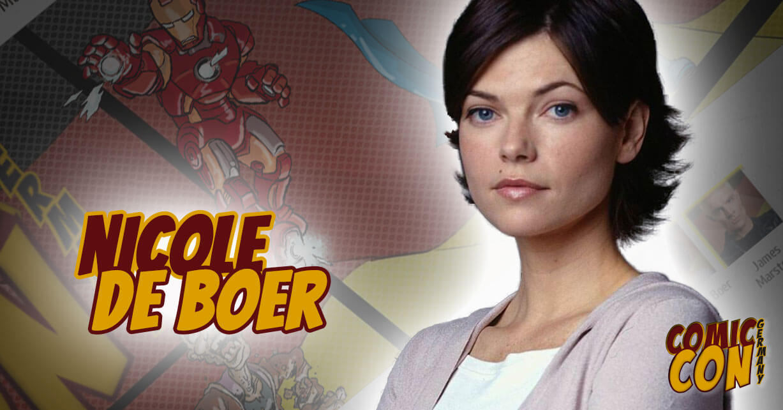 Comic Con Germany | Nicole de Boer