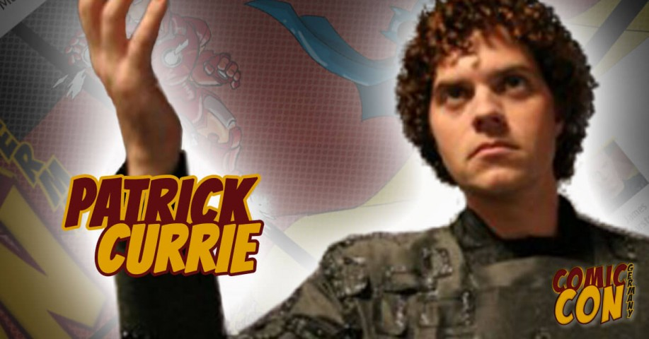 Comic Con Germany  Patrick Currie