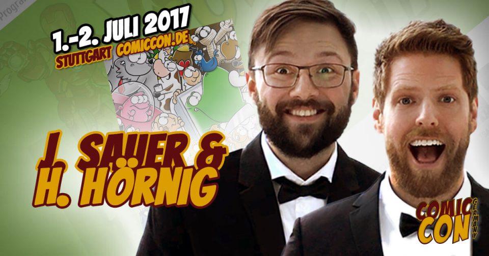 Comic Con Germany 2017 |Zeichner | Joscha Sauer & Haiko Hörnig