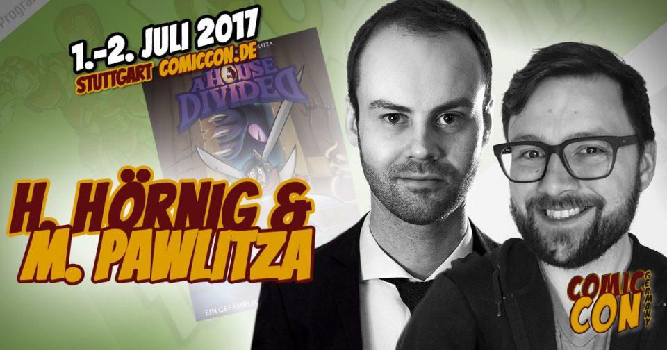 Comic Con Germany 2017 |Zeichner | Haiko Hörnig & Marius Pawlitza