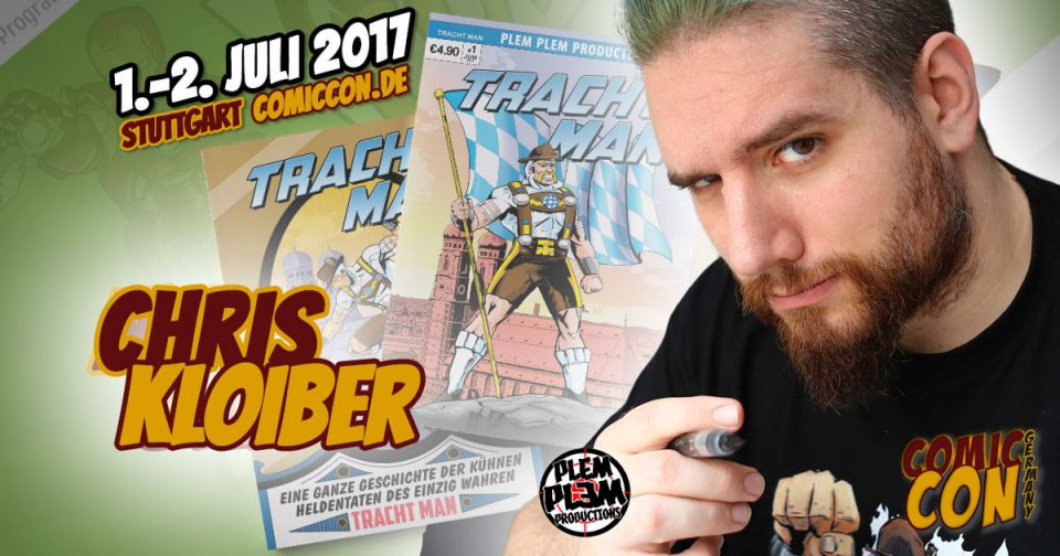 Comic Con Germay | Artist | Chris Kloiber