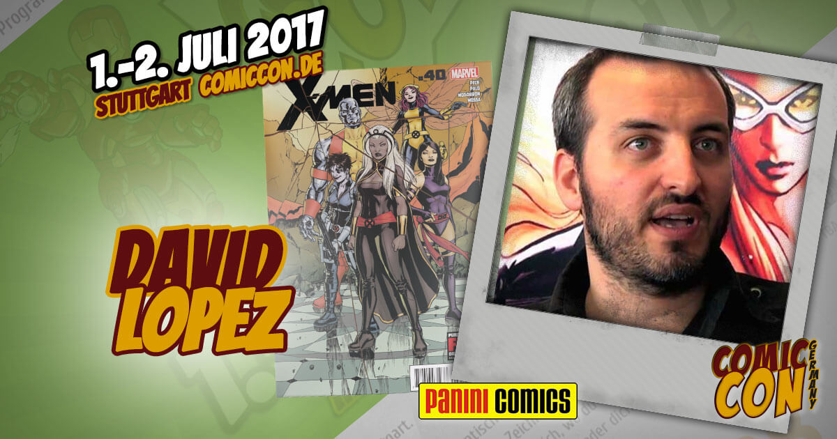 Comic Con Germany 2017  Zeichner   David Lopez