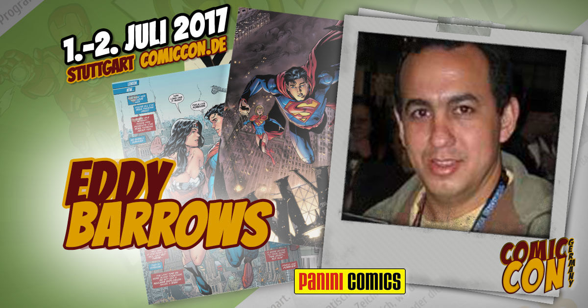 Comic Con Germany 2017  Zeichner   Eddy Barrows