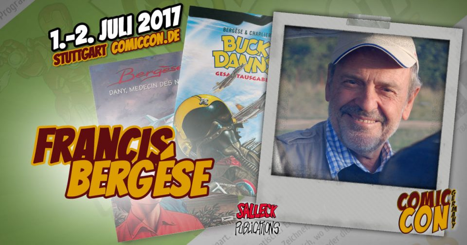 Francis Bergèse | Comic Con Germany