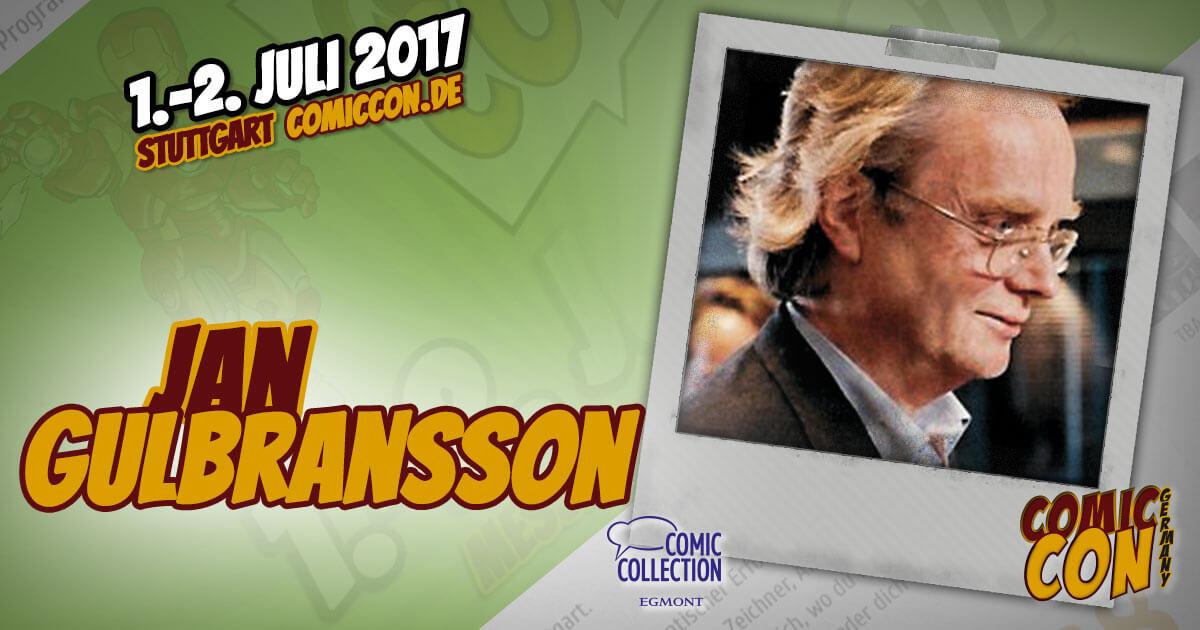 Comic Con Germay | Artist | Jan Gulbransson