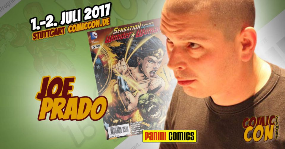 Comic Con Germany 2017 | Zeichner | Joe Prado