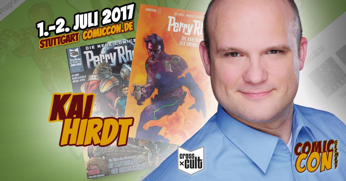 Comic Con Germany 2017 |Zeichner | Kai Hirdt