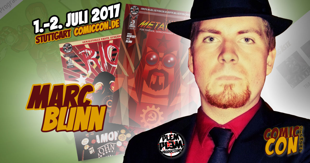 Comic Con Germany 2017 | Zeichner | Marc Blinn