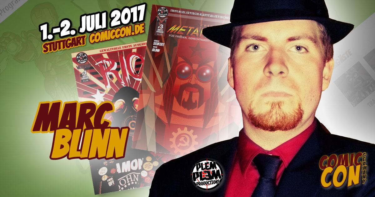 Comic Con Germany 2017 |Zeichner | Marc Blinn