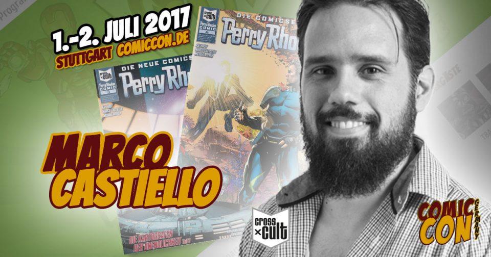 Comic Con Germany 2017 |Zeichner | Marco Castiello