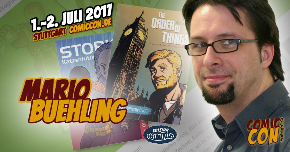 Comic Con Germany 2017 | Zeichner | Mario Buehling