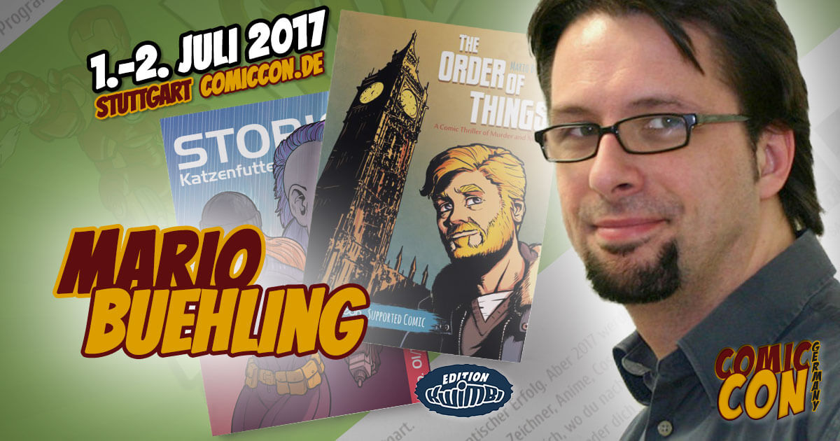 Comic Con Germany 2017 |Zeichner | Mario Buehling