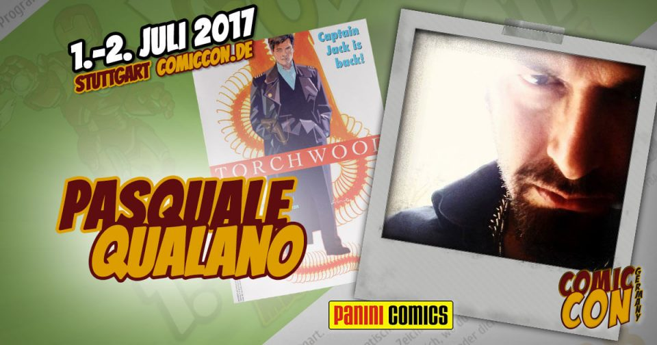 Comic Con Germany 2017 | Zeichner | Pasquale Qualano