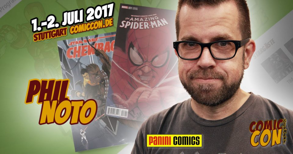 Comic Con Germany 2017 | Zeichner | Phil Noto