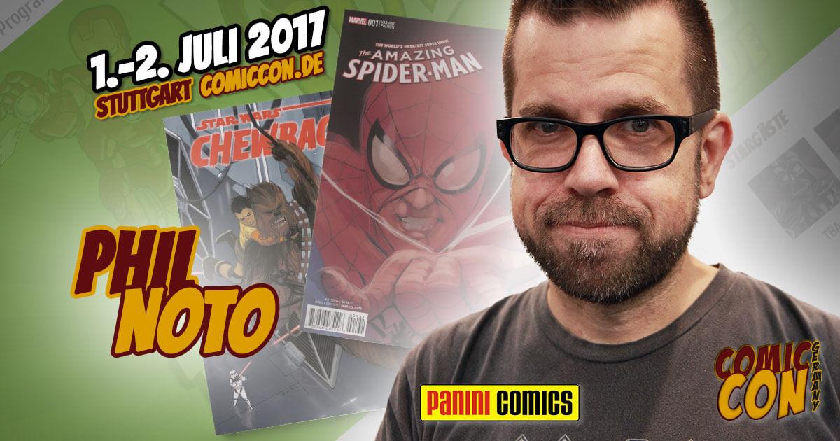 Comic Con Germany 2017 |Zeichner | Phil Noto