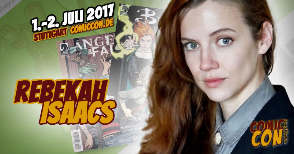 Comic Con Germany 2017 | Zeichnerin | Rebekah Isaacs