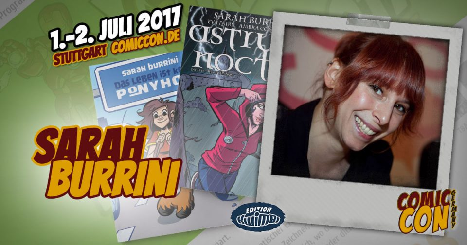 Comic Con Germay | Artist | Sarah Burrini