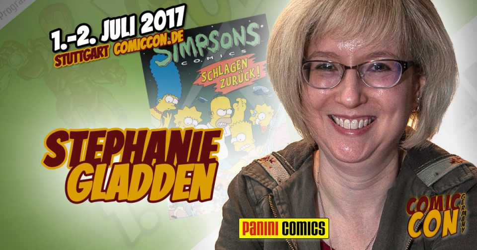 Comic Con Germany 2017 | Zeichnerin | Stephanie Gladden