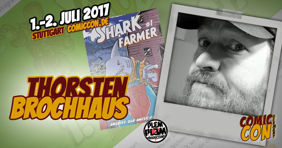 Comic Con Germany 2017  Zeichner   Thorsten Brochhaus