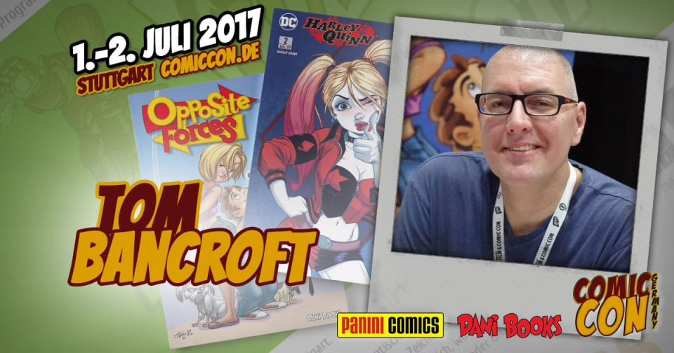 Comic Con Germay | Artist | Tom Bancroft
