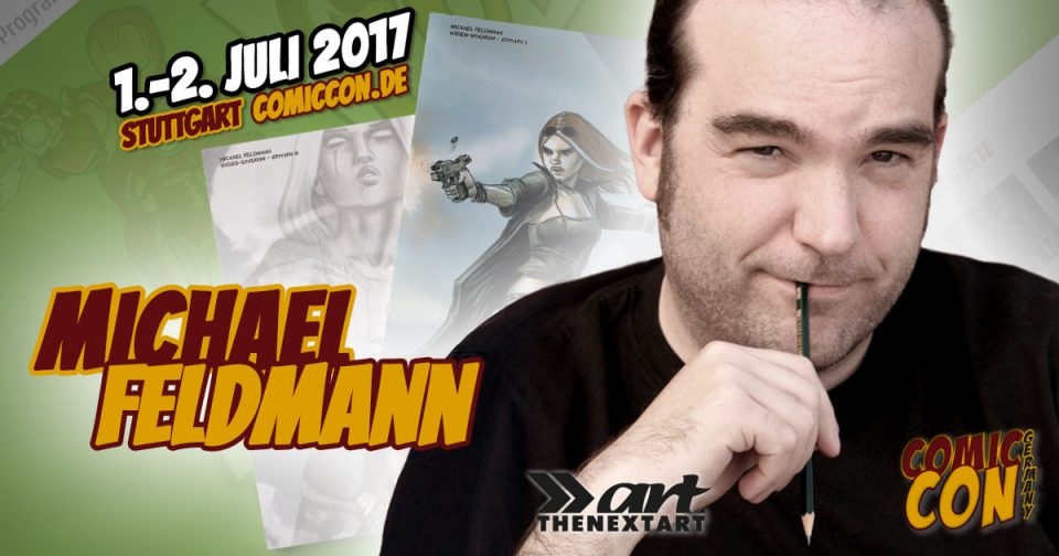 Comic Con Germany 2017 | Zeichner | Michael Feldmann