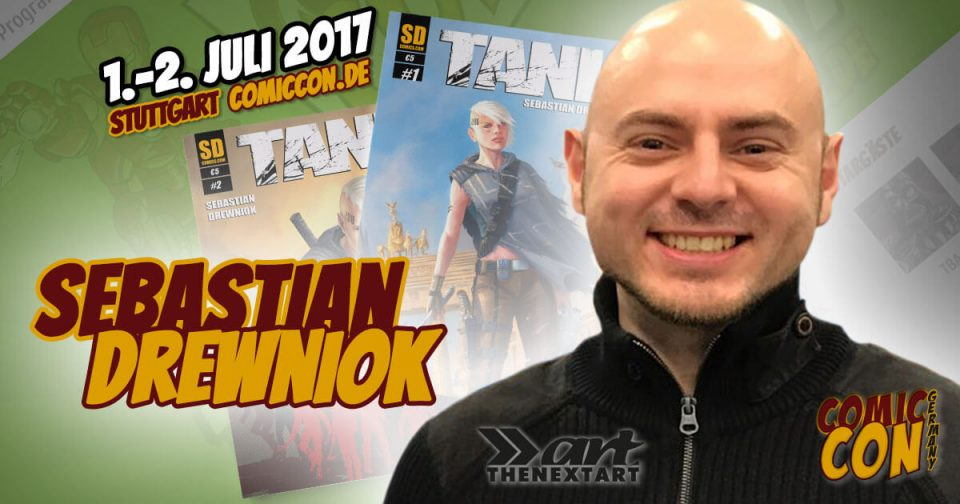Comic Con Germany 2017 | Zeichner | Sebastian Drewniok