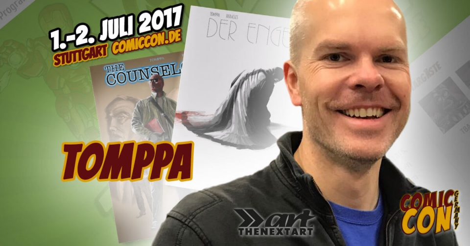 Comic Con Germany 2017 | Zeichner | Tomppa