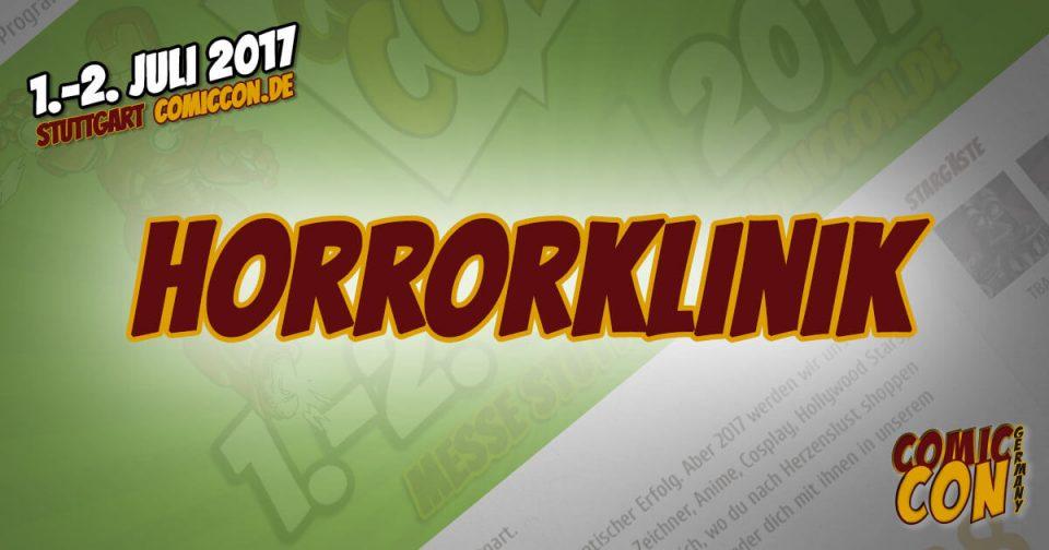 Comic Con Germay | Aussteller | Horrorklinik