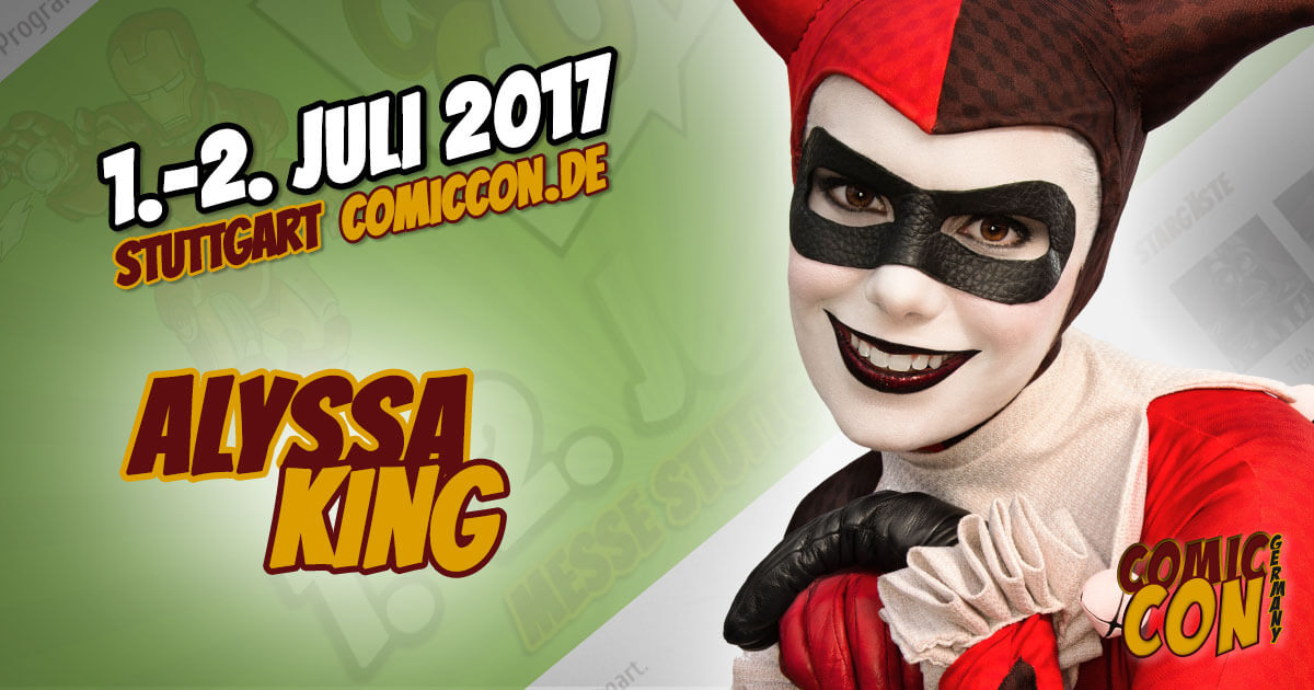 Comic Con Germany 2017 | Cosplay | Alyssa King