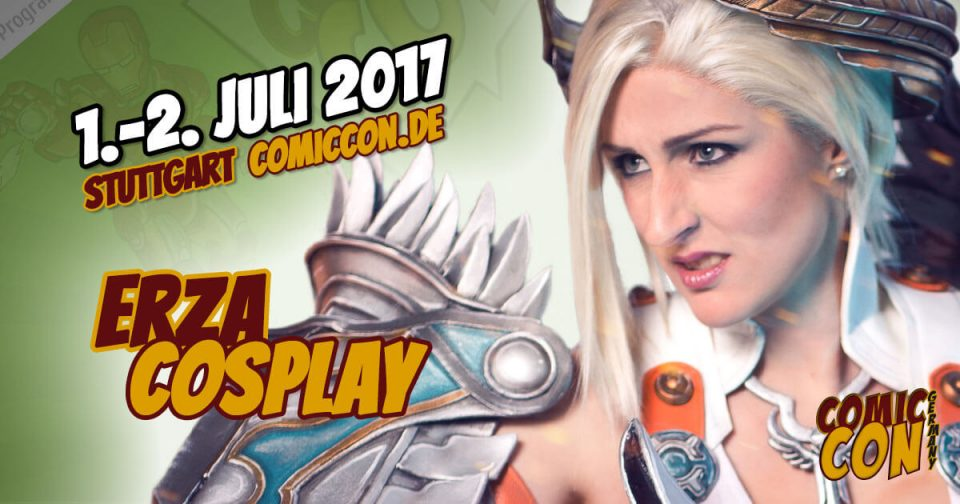 Comic Con Germany 2017 | Cosplay | Erza Cosplay
