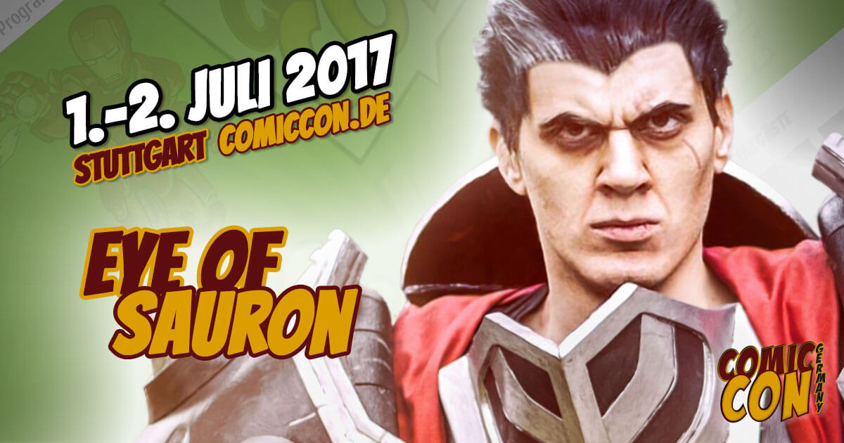 Comic Con Germany 2017 | Cosplay | Eye of Sauron