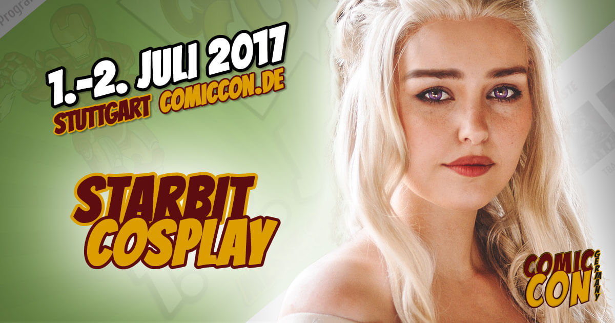 Comic Con Germany 2017 | Cosplay | Starbit Cosplay