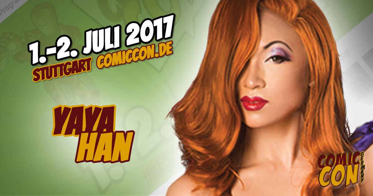 Comic Con Germany 2017 |Cosplay | Yaya Han