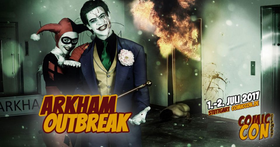 Comic Con Germany 2017 | Free Special | Arkham Outbreak