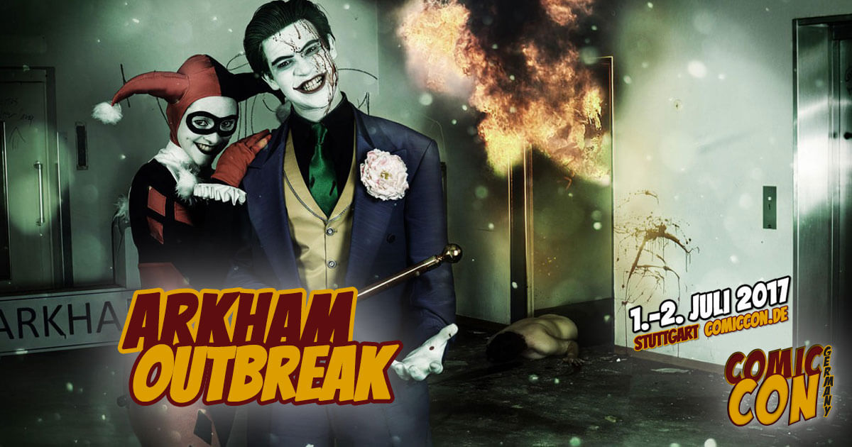 Comic Con Germany 2017 |Free Special | Arkham Outbreak