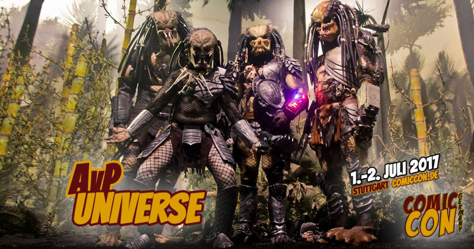 Comic Con Germany 2017 | Free Special | AvP Universe