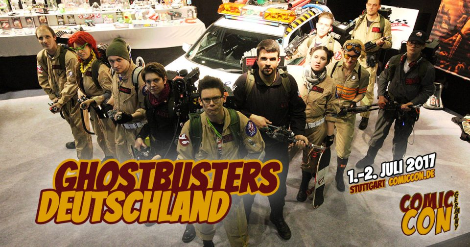 Comic Con Germany 2017 | Free Special | Ghostbusters Deutschland