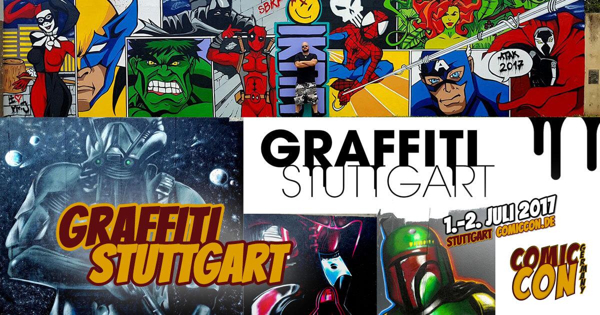 Comic Con Germany 2017 |Free Special | Graffiti Stuttgart