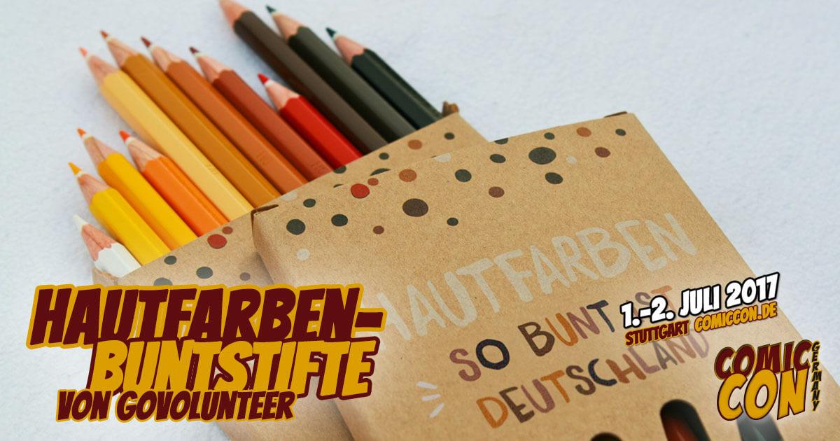 Comic Con Germany 2017 |Free Special | Hautfarben-Buntstifte von GoVolunteer
