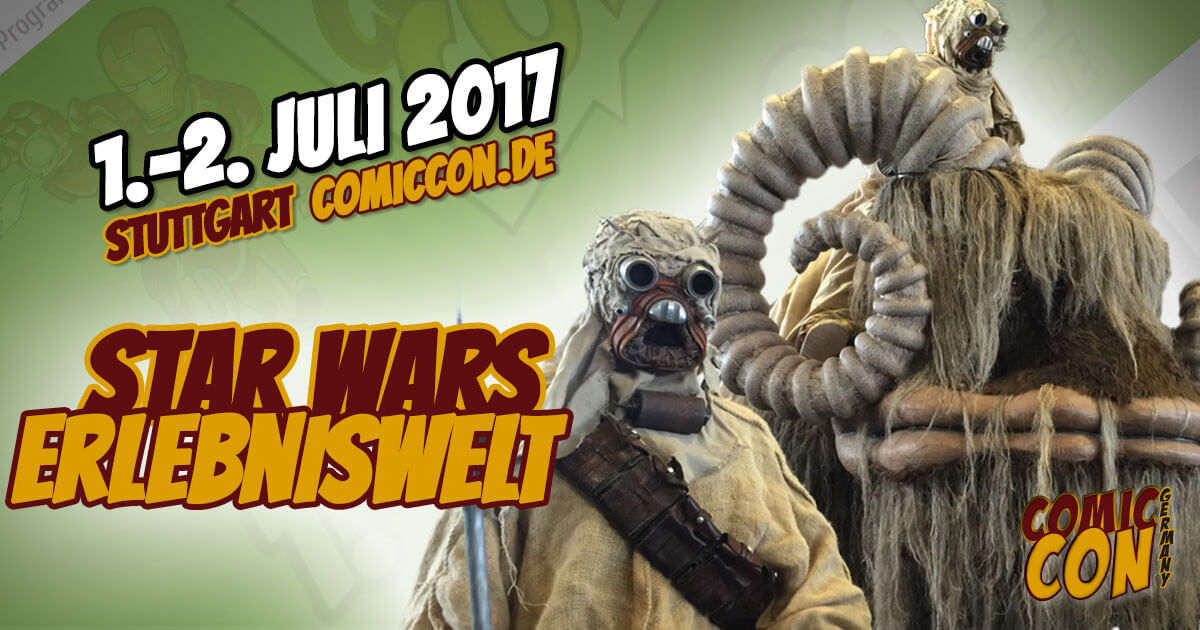 Comic Con Germany 2017 | Free Special | Star Wars Erlebniswelt