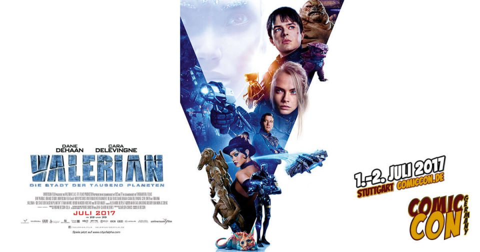 Comic Con Germany 2017 | Free Special | Valerian
