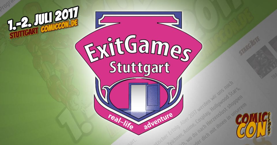 Comic Con Germay | Partner | Exit Games