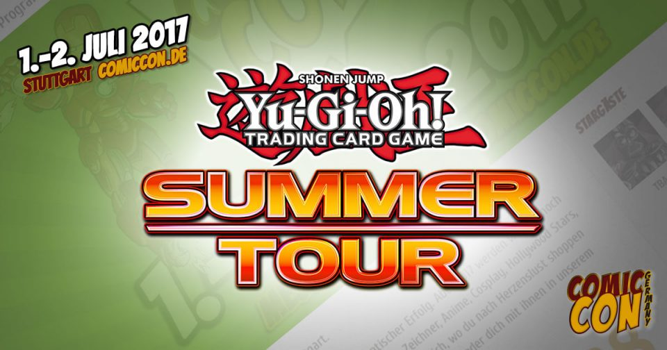 Comic Con Germay | Partner | Yu-Gi-Oh!